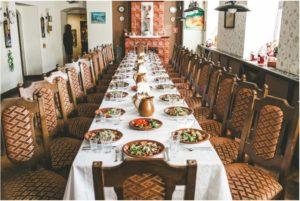 Проведение праздников, банкетов и фуршетов в ресторане «Кухмистр»