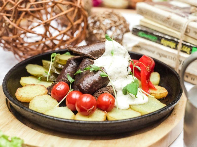 Домашняя колбаса из говяжьей печени фото главное