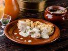 Верещака – густой соус с кусочками домашней колбасы