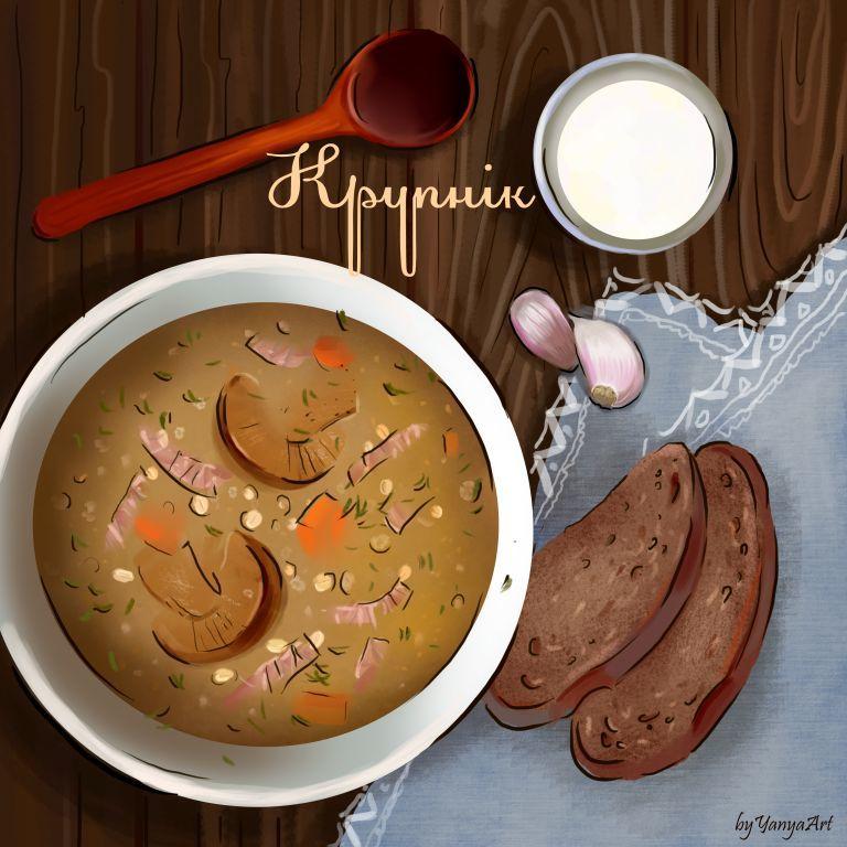 Крупник - главный белорусский суп