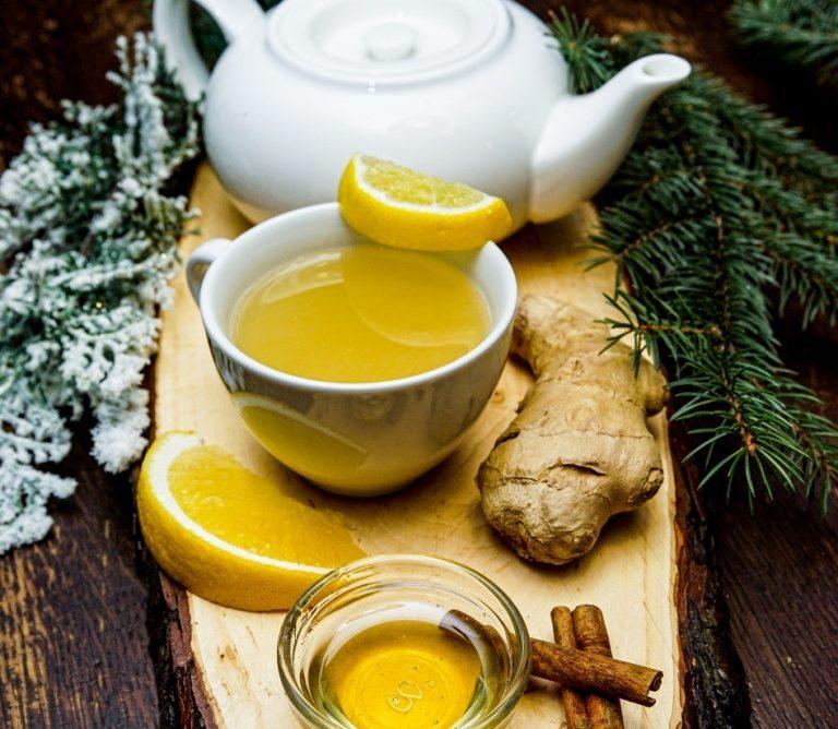имбирный чай с пижмой